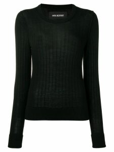 Neil Barrett knitted T-shirt - Black