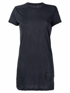 Rick Owens DRKSHDW midi crew neck T-shirt - Blue
