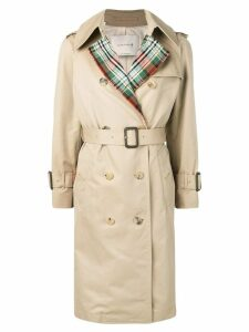 Mackintosh Honey Colour Block Trench Coat LM-062BS/CB - Brown