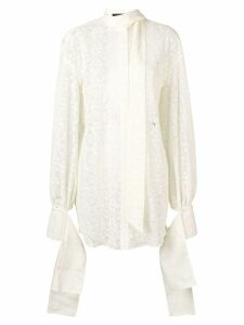 Rokh lace shirt - NEUTRALS