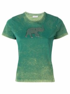 Balenciaga elephant T-shirt - Green