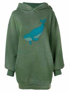 Balenciaga whale hoodie - Green