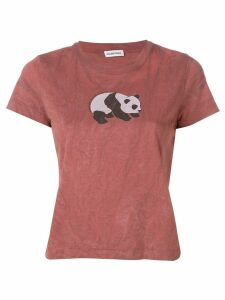 Balenciaga panda T-shirt - Brown