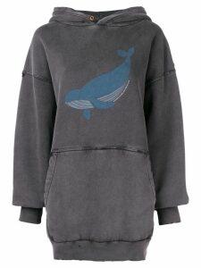 Balenciaga whale hoodie - Black