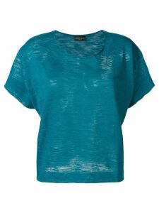 Roberto Collina scoop neck T-shirt - Blue