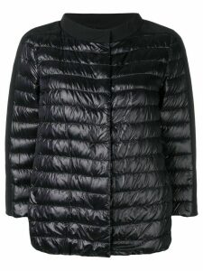 Herno short padded jacket - Black