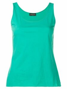 Roberto Collina scoop neck tank top - Green