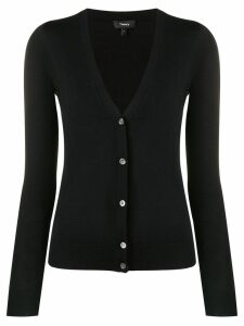 Theory v-neck cardigan - Black