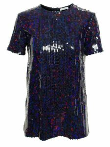 Nina Ricci sequinned blouse - Blue