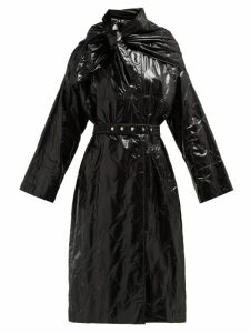 2 Moncler 1952 - Canberra Diamond-quilted Coat - Womens - Black