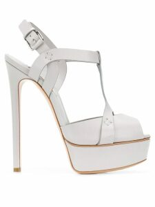 Casadei Flora sandals - Grey