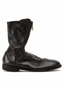 Guidi zipped ankle boots - Black