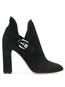 Casadei buckled ankle boots - Black