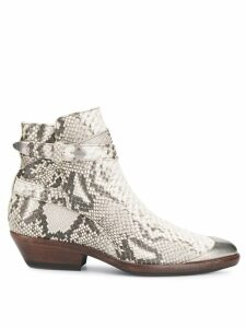 Isabel Marant leather ankle boots - Neutrals