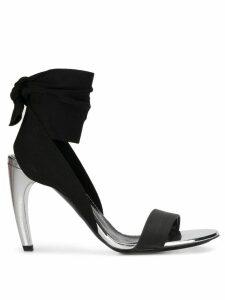 Proenza Schouler tie strap sandals - Black