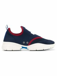 Isabel Marant logo slip-on sneakers - Blue