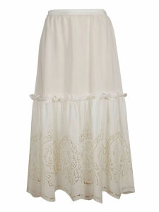 Stella McCartney Laced Long Skirt
