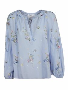 Blugirl Floral Embroidery Blouse