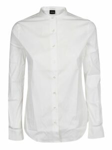 Aspesi Collarless Shirt