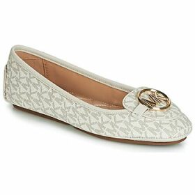 MICHAEL Michael Kors  LILLIE MOC  women's Shoes (Pumps / Ballerinas) in White