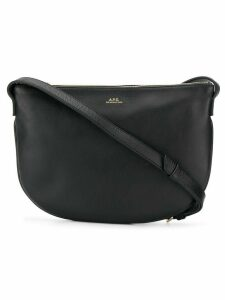A.P.C. medium crossbody bag - Black