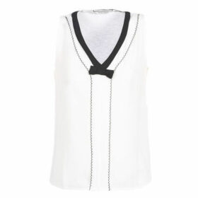 Naf Naf  OKARMA NEW T2  women's Blouse in White