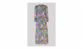 Simone Floral Print Midi Dress