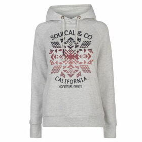 SoulCal Wrap Front Hoodie - Ice Twist