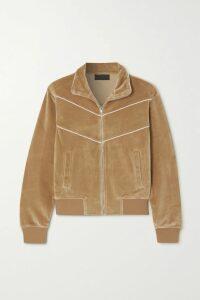 L.F.Markey - Axel Ribbed Stretch-cotton Jersey Turtleneck Bodysuit - Lilac