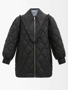 Marni - Belou Abstract-print Cotton Top - Womens - Brown Multi