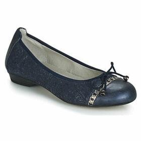 Dorking  7858  women's Shoes (Pumps / Ballerinas) in Blue