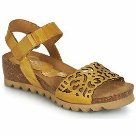 Dorking  7847  women's Sandals in Yellow