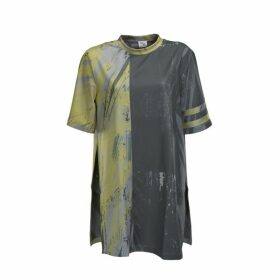 Boo Pala London Unisex Grey & Lime Hues T-shirt