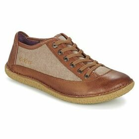 Kickers  HOLLYDAY  women's Casual Shoes in Brown