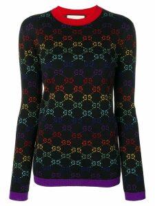 Gucci GG logo jumper - Black