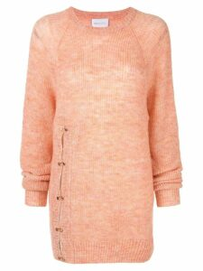 Alice McCall front split jumper - Orange