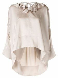 Eudon Choi Leonora blouse - NEUTRALS