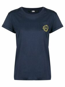 Karl Lagerfeld city pocket T-Shirt - Blue