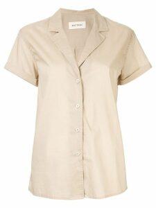 Matteau short sleeve shirt - NEUTRALS