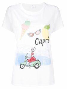 Allude Capri T-shirt - White