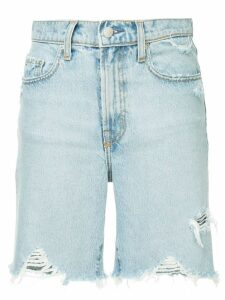 Nobody Denim cycle denim shorts - Blue