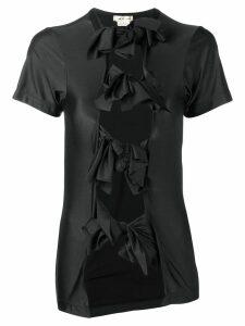 Comme Des Garçons bow-tied blouse - Black