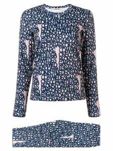 Comme Des Garçons logo printed sweatshirt - Neutrals