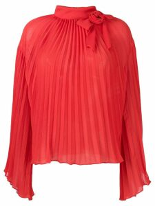 Philosophy Di Lorenzo Serafini pleated rose blouse - Red