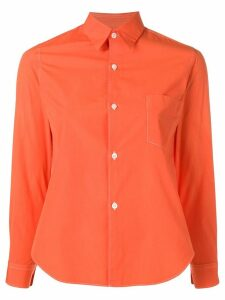 Comme Des Garçons Pre-Owned chest pocket shirt - ORANGE