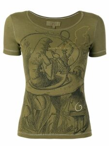 Romeo Gigli Pre-Owned embellished print T-shirt - Green