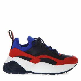 Stella McCartney Eclypse Blu Faux Leather Sneakers