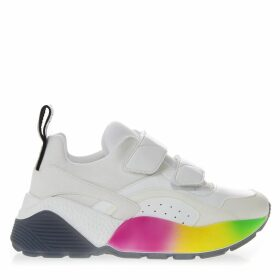 Stella McCartney Eclypse Raimbow White Sneakers
