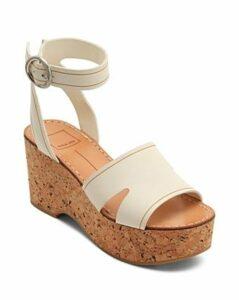 Dolce Vita Women's Linda Leather & Cork Platform Sandals