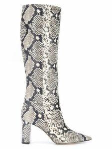Marc Ellis animal print ankle boots - Neutrals